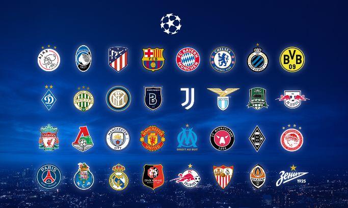Daftar 32 Tim Peserta Liga Champions 2020-2021