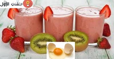 عصير بروتين طبيعي