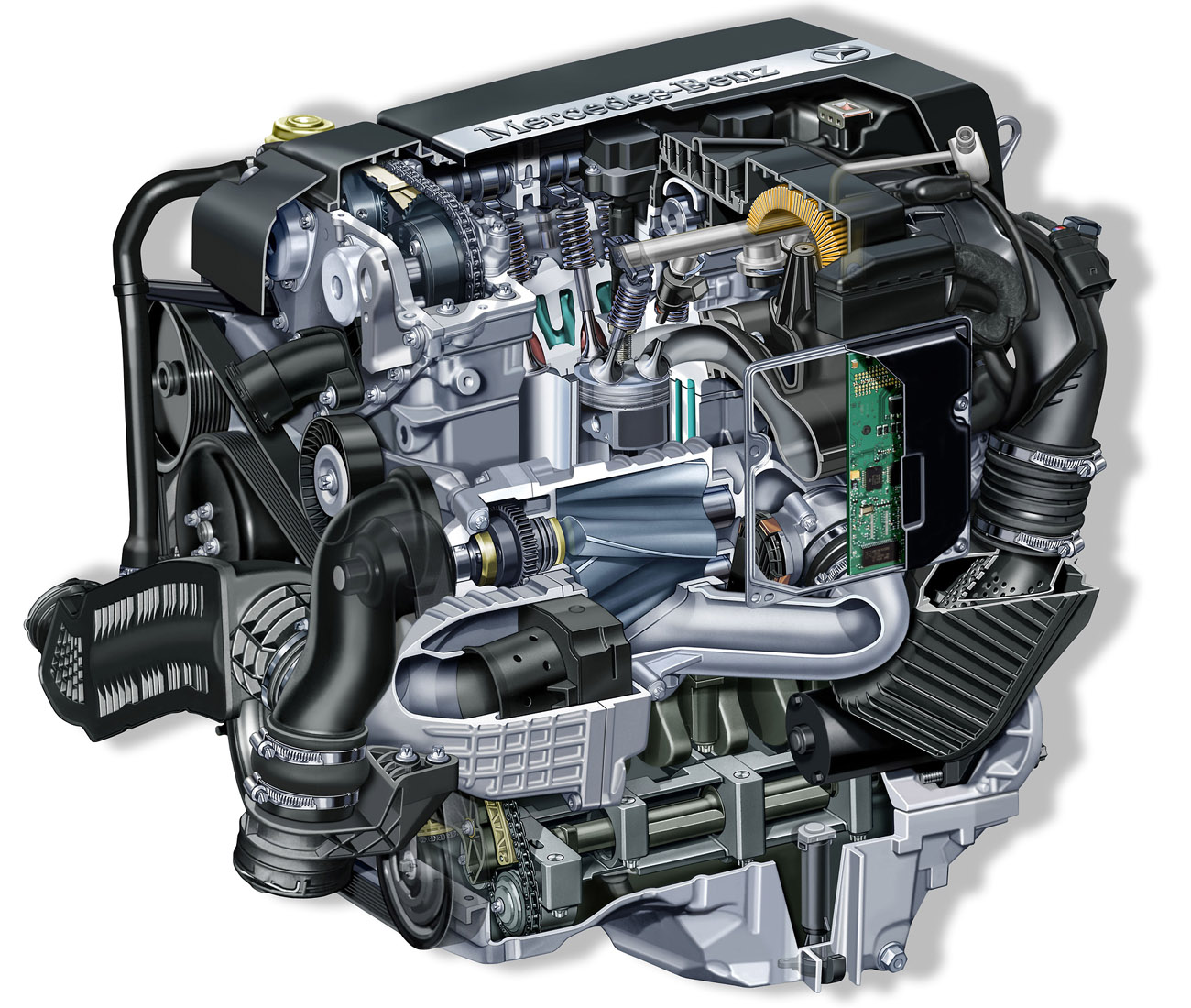 Cars N Bikes 10 04 11 Benz Engine Diagram Mercedes Is The To Much Hours Powerits All About Oilmercedes Partsmercedes