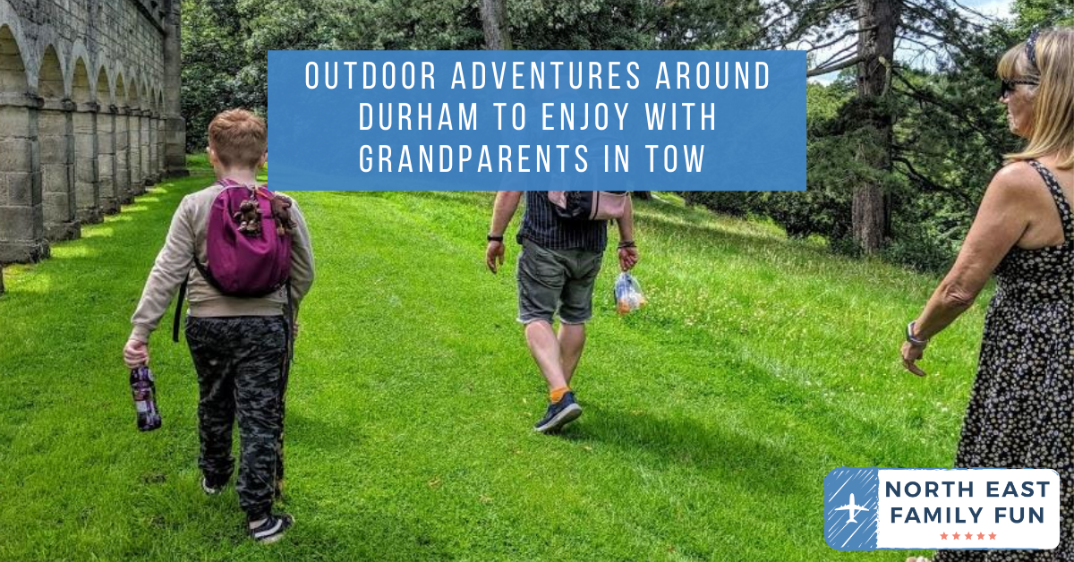 Outdoor Adventures around Durham to enjoy with Grandparents in tow