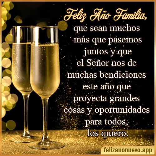 deseos feliz año nuevo familia