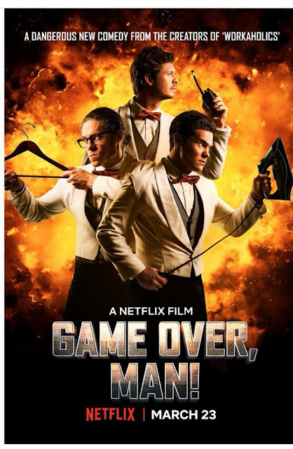 Game Over, Man! (2018) ταινιες online seires xrysoi greek subs