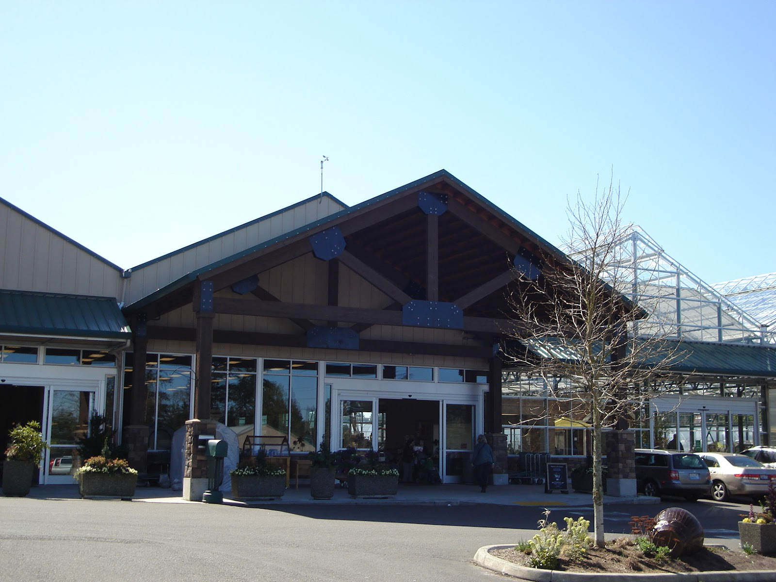 The Main Entrance To Sky Nursery And Coffee Has Been On North End Since New Greenhouses Were Built