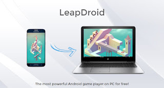 emulator android pc terbaik leapdroid