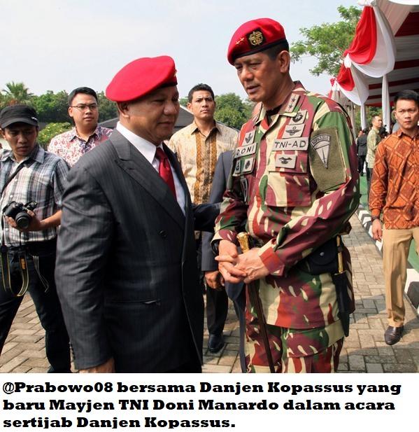 #Indonesia Election News; MENGAPA JENDERAL PRABOWO 'DITAKUTI' OLEH SEBAGIAN JENDERAL ?