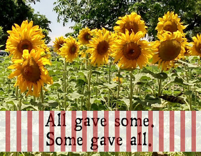sunflowers memorial day