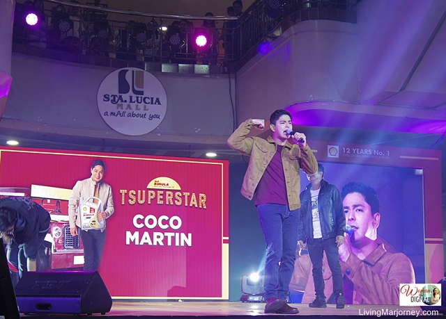 Coco Martin at Shell Tsuperstar