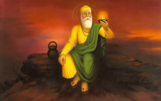 Guru Nanak Dev ji Photo Download