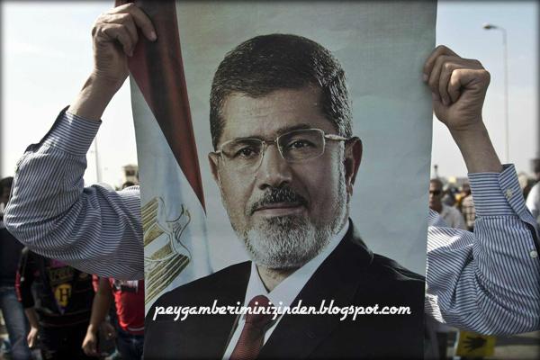 Şehid Mursi'nin defni sırasında yaşanan harika olaylar