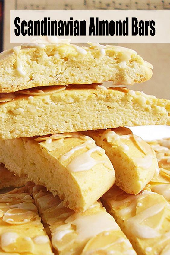 Easy Scandinavian Almond Bars