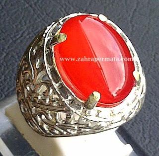 Batu Permata Red Carnelian - ZP 377