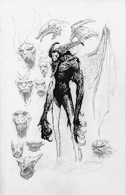 Immortal Enemy Sketches