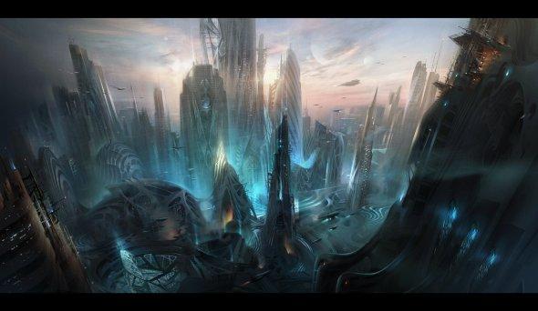 Ivan Laliashvili deviantart ilustrações fantasia ficção científica games