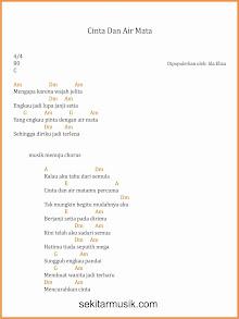 chord cinta dan air mata dangdut ida eliza