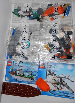 Oz Brick Nation Lego City 60015 Coast Guard Plane Review