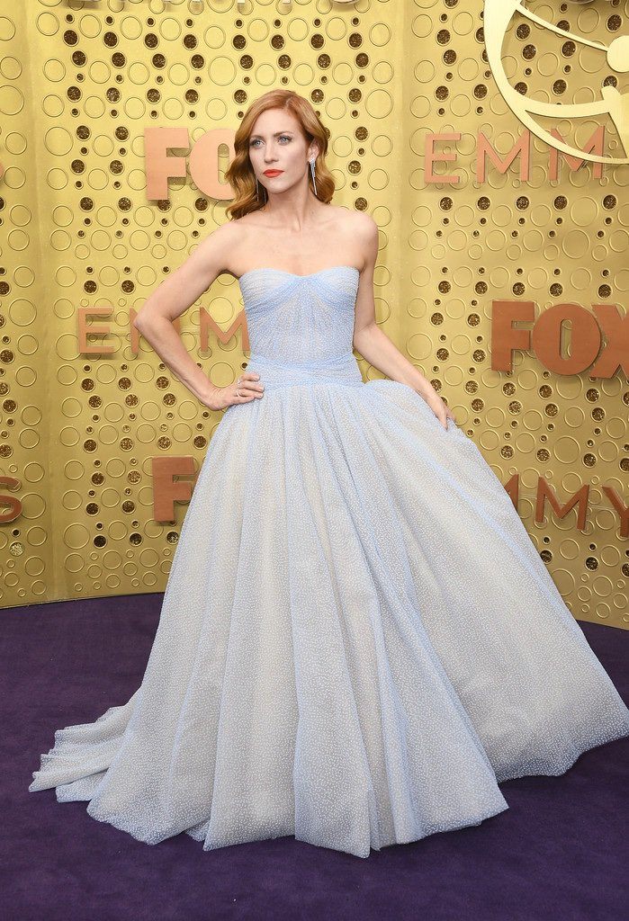 Brittany Snow Was IRL Cinderella at the 2019 Emmys