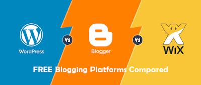 WordPress vs Blogger platform