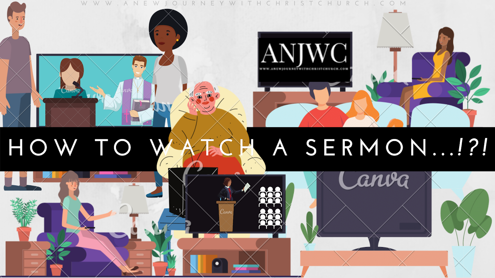 How do we listen to (watch) sermons?