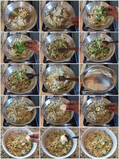 images of Garlic Herb Cauliflower Rice / Herb Cauliflower Rice / Cauliflower Rice With Herbs And Garlic