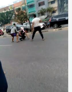 Viral Polisi Dikeroyok Dua Pria, Ternyata Pelakunya Oknum TNI