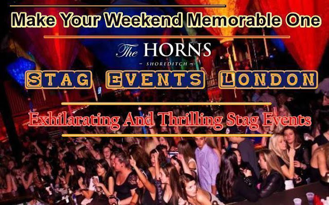 Stag events London
