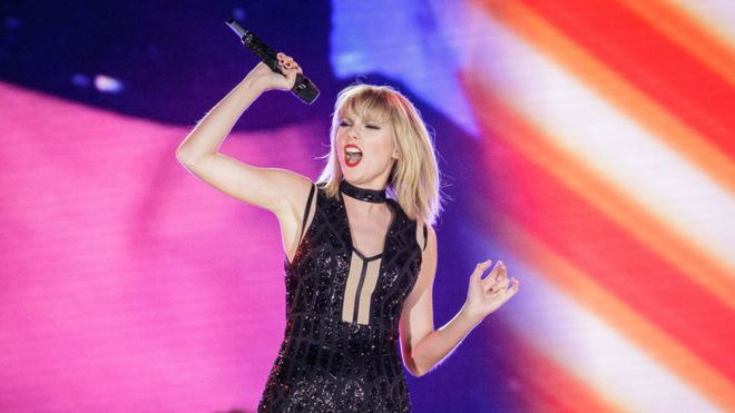 Taylor Swift 'is highest-paid woman in music'