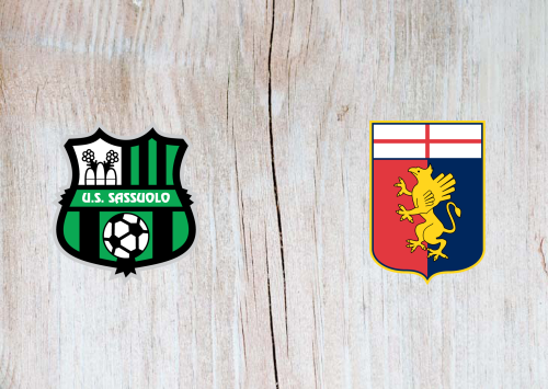 Sassuolo vs Genoa -Highlights 29 July 2020