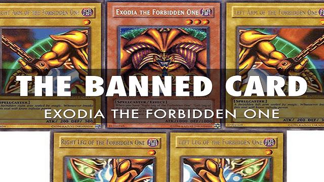Exodia di-banned karena dianggap tidak seimbang