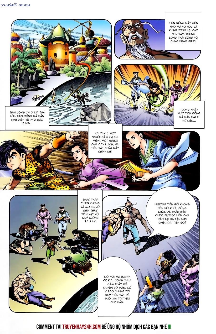 Cơ Phát Khai Chu Bản chapter 104 trang 18