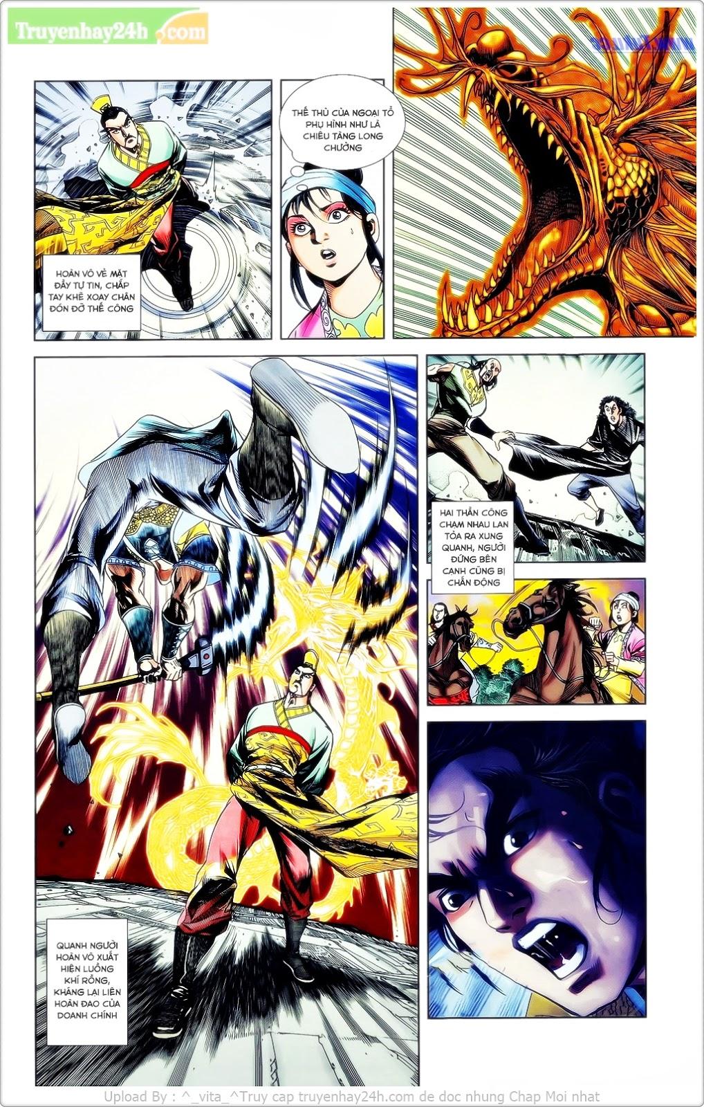 Tần Vương Doanh Chính chapter 23 trang 18