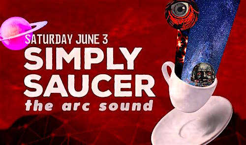 Simply Saucer @ Duggan's Basement, June 3