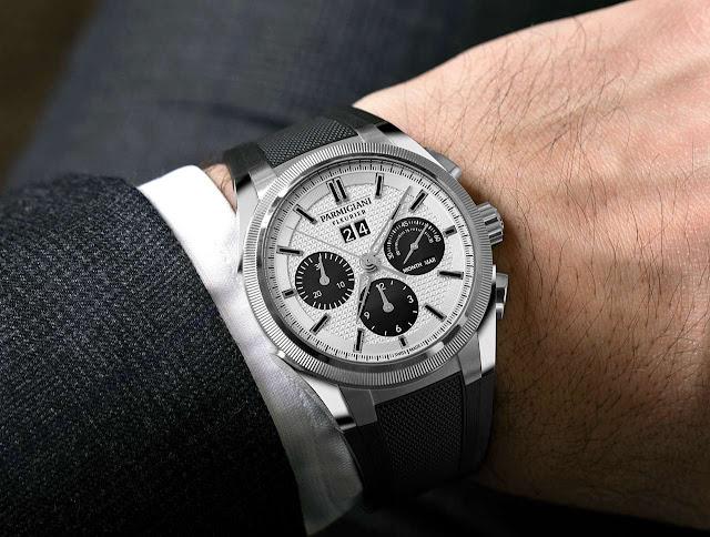 Parmigiani Fleurier Tondagraph GT Steel Silver Black