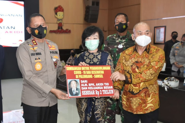 Salut! Pengusaha asal Aceh sumbang Rp 2 triliun untuk penanganan Covid