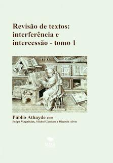 Livro sobre interferência e intercessão na revisão de textos