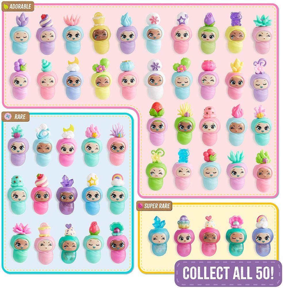 Вкладыш коллекционера к куклам Blume Baby Pop 50 игрушек