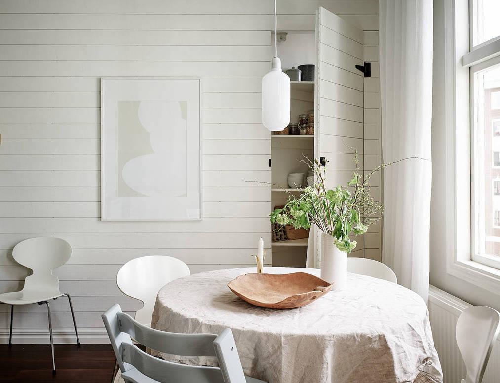 Un appartamento che infonde serenità a Göteborg