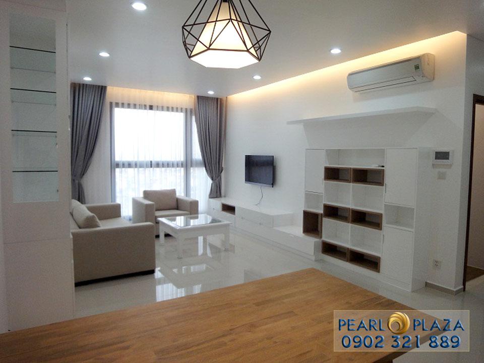 3 căn hộ cho thuê giá tốt tại Pearl Plaza cuối năm 2017