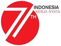 Logo Resmi HUT RI ke 71 Tahun 2016