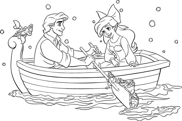 just add water coloring pages for kids | Mommy and Things: Disney Movie Night: The Little Mermaid