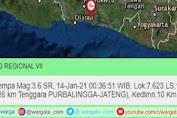 Warga Terbangun Akibat Getaran Gempa Terasa di Kota Parepare
