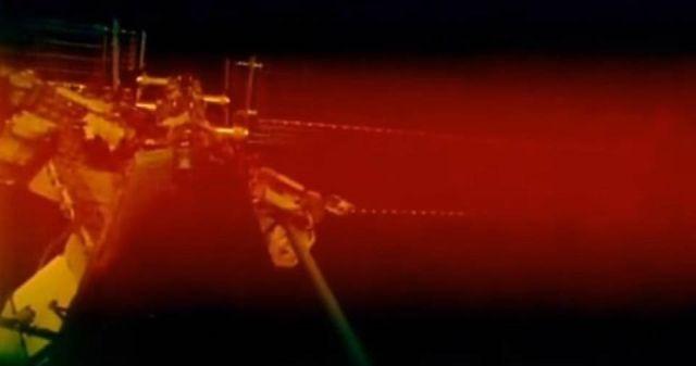 МКС погрузилась в красный туман