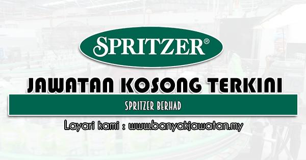 Jawatan Kosong 2021 di Spritzer Berhad