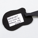 Funky Luggage Tags - Step 1