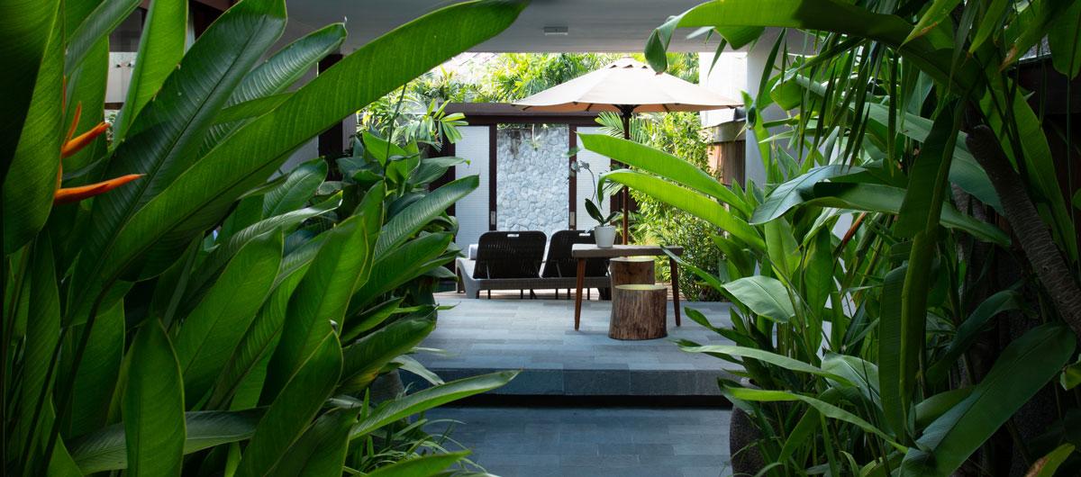 Entrance Villa Exterior - Architecture Photography