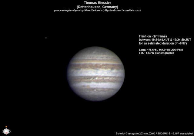 Júpiter foi atingido mais uma vez - maio de 2017 - Thomas Riessler - Marc Delcroix