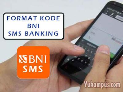 format kode sms banking bni