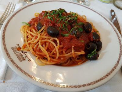 Restaurante di Sabatino, en Roma