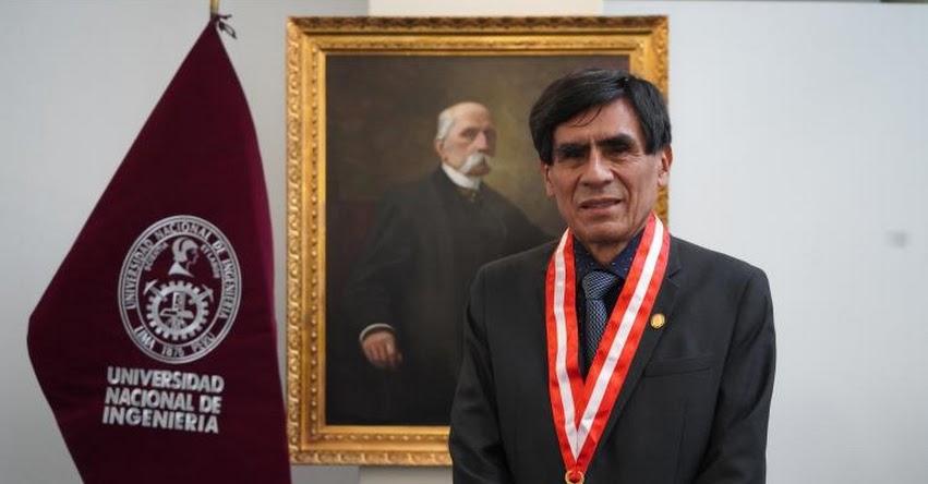 UNI: El Doctor Pedro Canales García asume como Rector (e) de la Universidad Nacional de Ingeniería