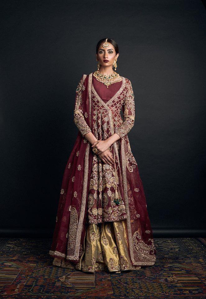 Mesmerizing Red Pakistani Barat Dresses by Zara Shahjahan Bridal Collection