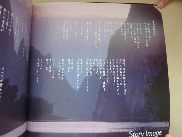 """Story Image""gives an outline of the journey that Ryo embarks upon"
